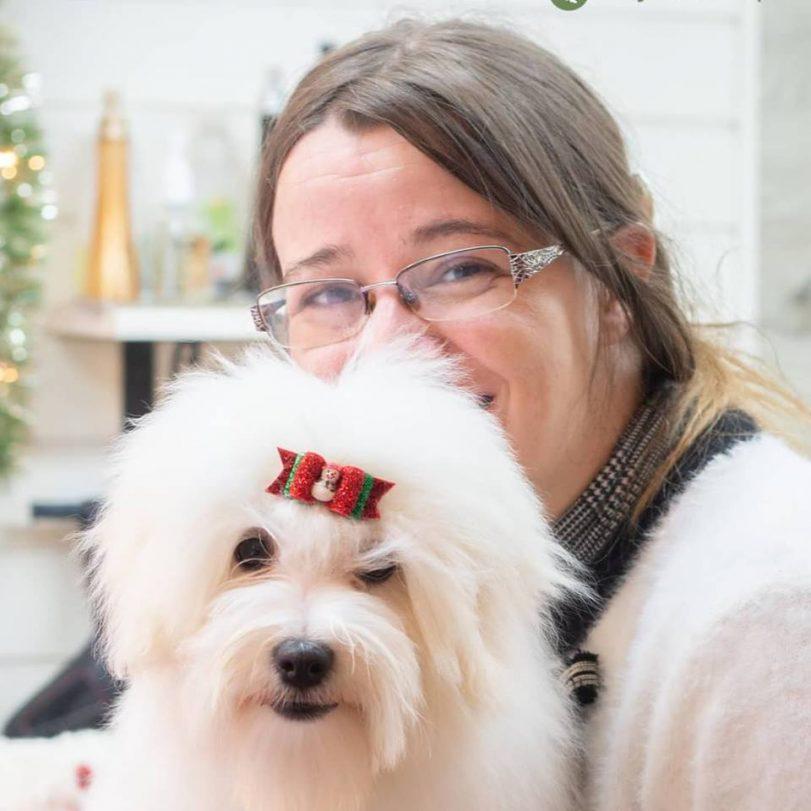 Živa v pasjem salonu supertetka